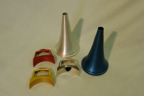 Anodizing Clear, Blue, Red and Gold
